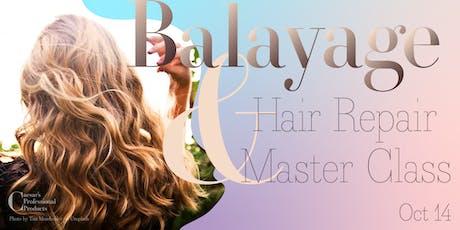 Balayage & Hair Repair Master Class tickets