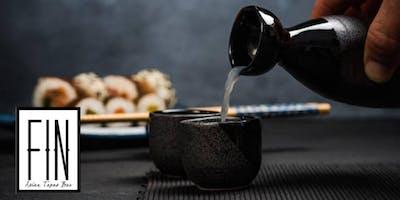 Sake Class and Tasting at FIN Hollywood