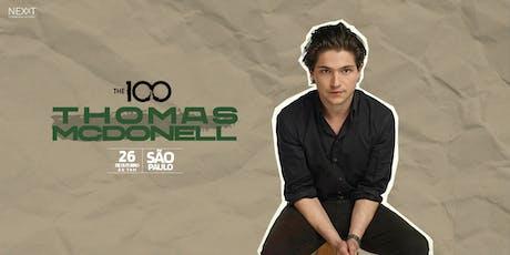 Casa Nexxt apresenta: Thomas McDonell em São Paulo ingressos