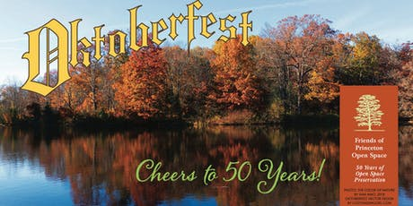 Oktoberfest  with Friends of Princeton Open Space tickets