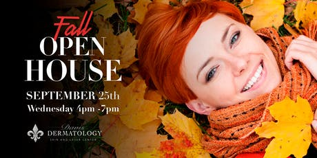 Davis Dermatology Fall Open House 2019 tickets