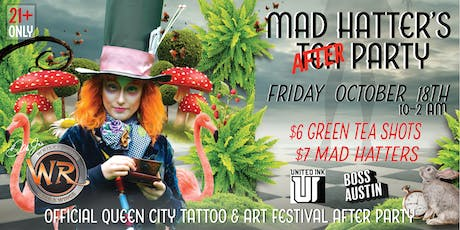 Official United Ink Mad Hatter's After Party @Whisky River tickets
