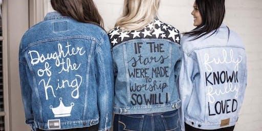 Homegirl Paint Your Denim Jacket