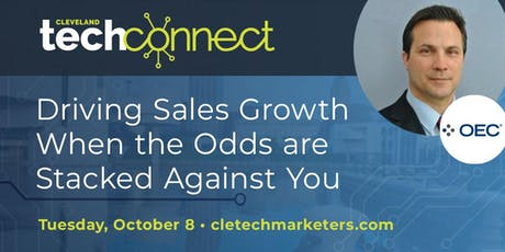 Driving Sales Growth When the Odds are Stacked Against You tickets