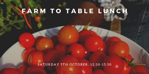 Farm to Table Lunch, Cambridge Food Event