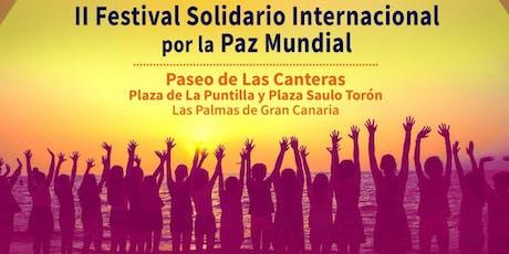 II Festival Solidario Internacional por la Paz Mundial entradas