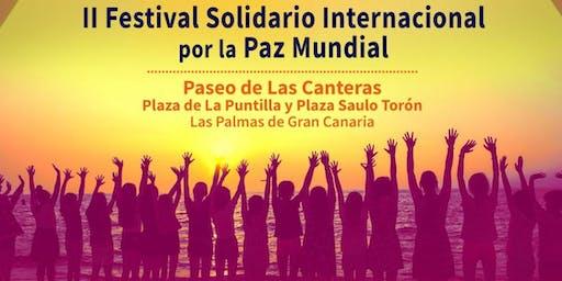 II Festival Solidario Internacional por la Paz Mundial