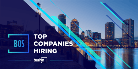 Built In Boston's Top Companies Hiring tickets