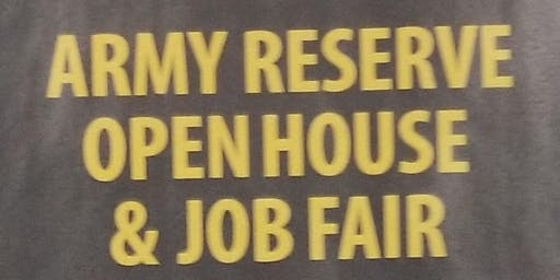 Canadian Army Reserves Job Fair and Open House