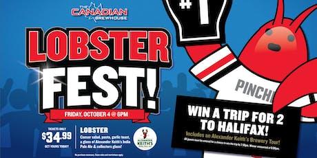 CBH Lobster Fest 2019  (Regina Grasslands) tickets