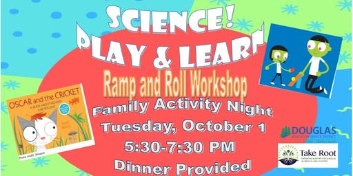 SCIENCE Play & Learn-Ramp & Roll Workshop