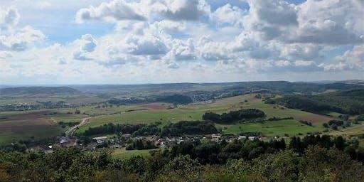 """Sa,12.10.19 Wanderdate """"Single Wandern Burgen, Kunst und Aussicht auf dem Slevogtfels ab 40J"""""""