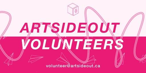 ARTSIDEOUT Volunteer Orientation