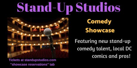 Stand-Up Studios Comedy Showcase at Caddies - Bethesda Sunday, Oct 13 - 7:30pm tickets