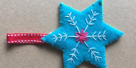 Kids Sewing Workshop - Sew a Festive Star tickets