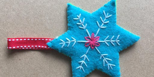 Kids Sewing Workshop - Sew a Festive Star