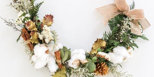 Christmas Wreath Making Workshop - Sydney