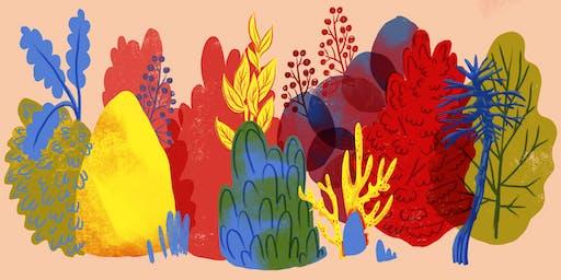 3-Color Digital Illustration Workshop 65-100 dollar sliding scale donation