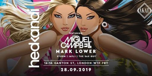 Hedkandi w/ Miguel Campbell + More