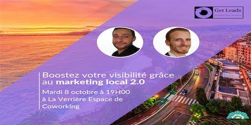 Conférence gratuite : Boostez votre visibilité grâce au marketing local 2.0