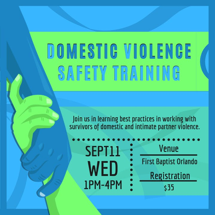 Domestic Violence Safety Training