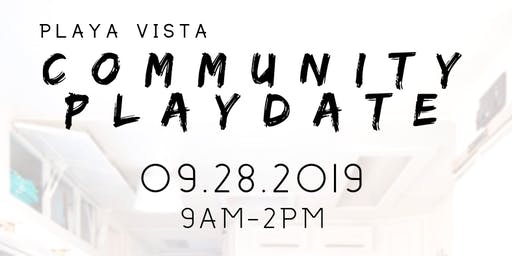 Playa Vista Community PlayDate at Playa Vista Farmers Market