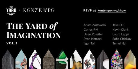 The Yard of Imagination Vol.1 Art Show by Kontempo tickets