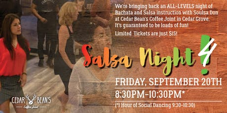 Friday Salsa Night at the Bean! tickets