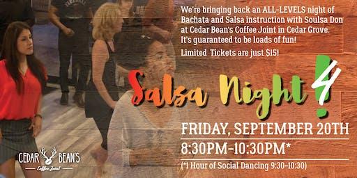 Friday Salsa Night at the Bean!