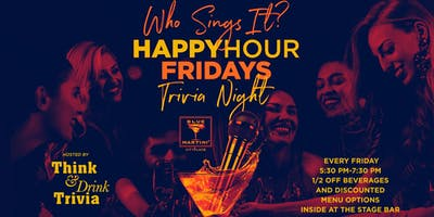 Who Sings It? with Think & Drink Trivia 9.27.19