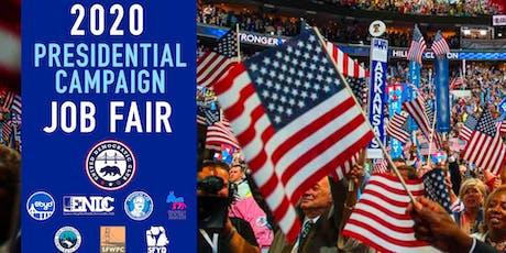 Presidential Campaign Job Fair tickets