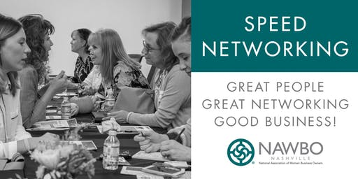 NAWBO Speed Networking Evening Event