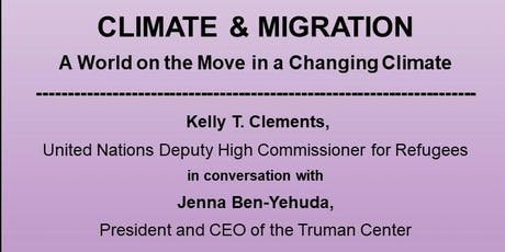 Climate and Migration: An Essential Conversation tickets