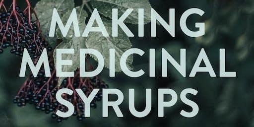 Making Medicinal Syrups for Wellness