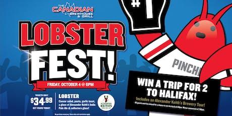 CBH Lobster Fest 2019  (Kelowna) tickets