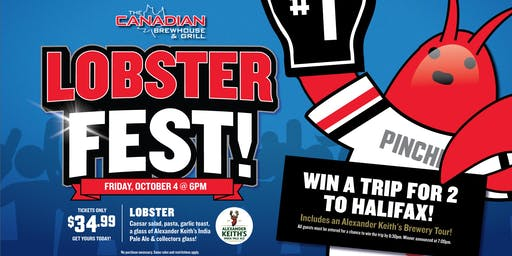 CBH Lobster Fest 2019  (Kelowna)