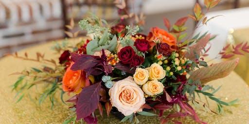 Fall Floral Table Arrangement