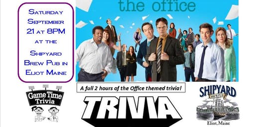 The Office themed trivia night with CASH prizes