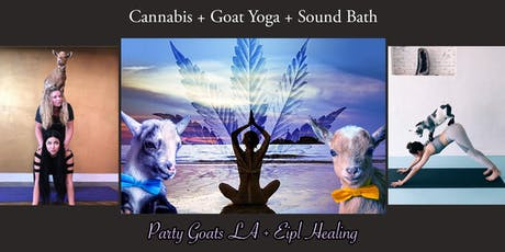 Ultimate Goat Yoga + Sound Bath Experience - Infused with Cannabliss tickets