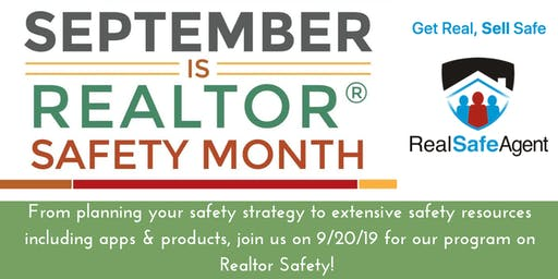 Realtor Safety Event