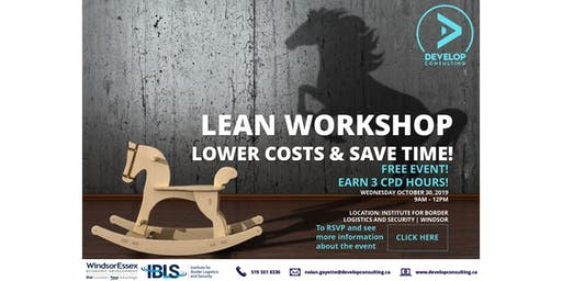 Lean Workshop: Lower Costs & Save Time!