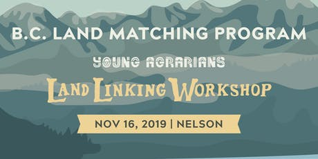 Nelson Land Linking Workshop tickets