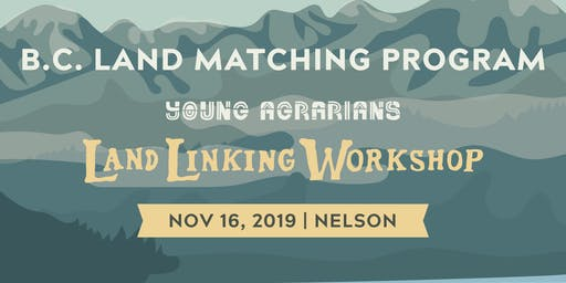 Nelson Land Linking Workshop