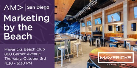 Marketing by the Beach October! - An AMA San Diego Mixer tickets
