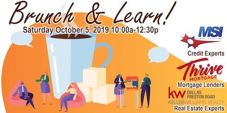 Brunch & Learn - A Home Buyers Seminar tickets