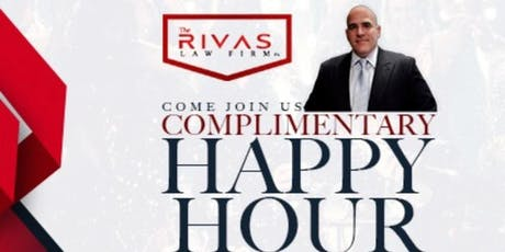 Rivas Law Firm Happy Hour tickets