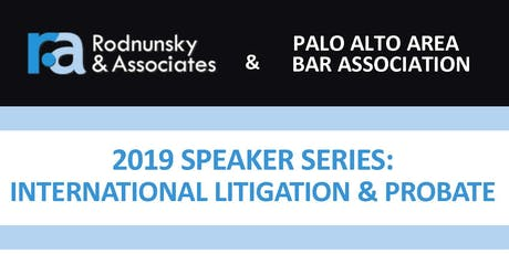 R&A 2019 Speaker Series: International Law Luncheon - Earn MCLE Credit! tickets