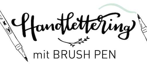 Handlettering mit Brush Pen
