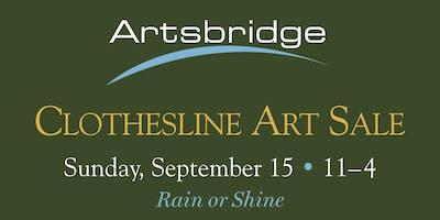 Artsbridge Clothesline Art Sale