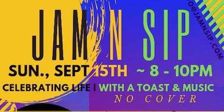 September Jam N Sip tickets